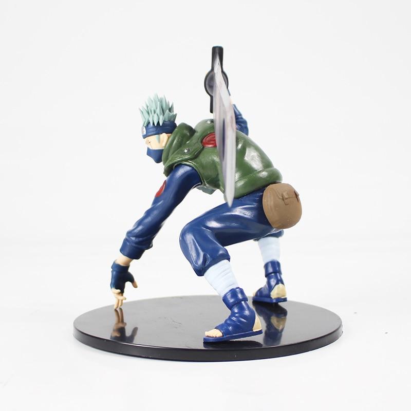 Naruto Shippuuden Hatake Kakashi with Sword Shinobi World War Figurine Ver. PVC Action Figure Collection Model Toys Dolls 2