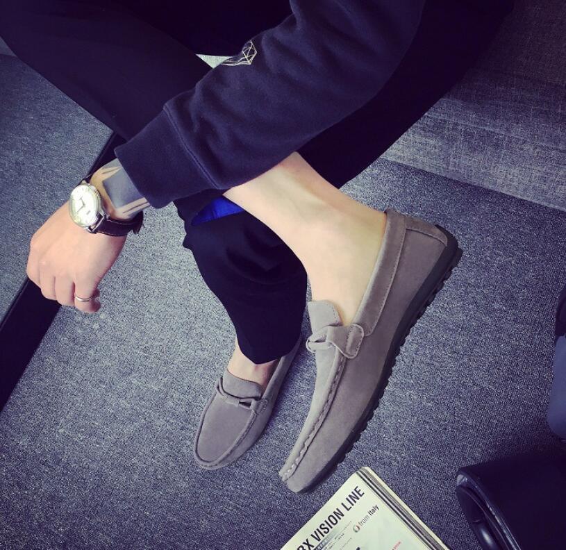 SAGYUA 남성 최신 패션 봄 가을 캐주얼 로퍼 Hombre Men - 남성용 신발 - 사진 4