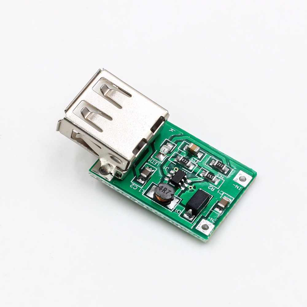 DC-DC convertitore step-up modulo (0.9V ~ 5V) A 5V 600MA USB booster circuit board power boost