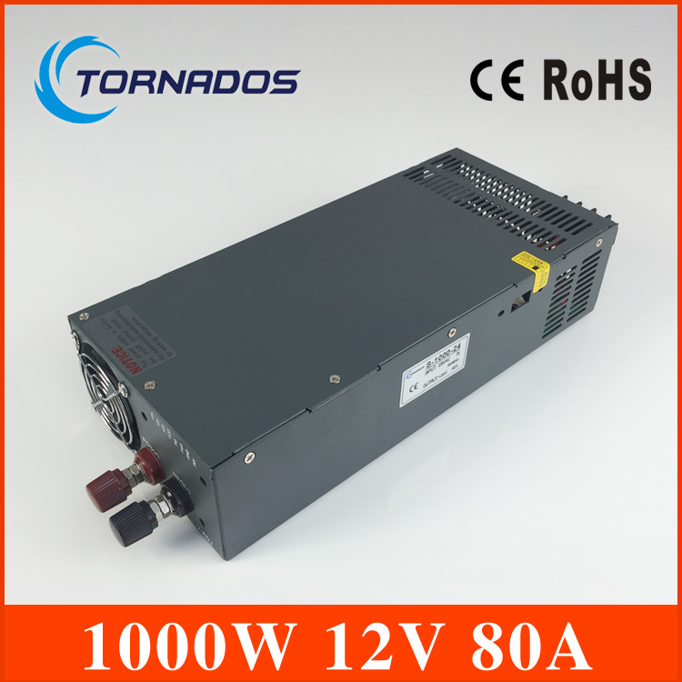 S-1000-12 power supply 12v 1000w manufacturer direct sale single output type transformer 12v professional switching power supply 120w 12v 10a manufacturer 120w 12v power supply transformer