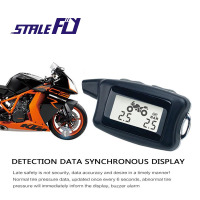 STABLE FLY Motorcycle Tire Pressure Monitoring System For Safety For Motorcycle Monitoring Tire Pressure TPMS 2