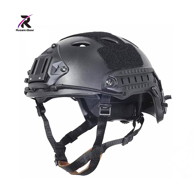 Sports Helmets New Army Military Fast Tactical Helmet Desert & Black for hunting and Skirmish Airsoft Paintball Protective
