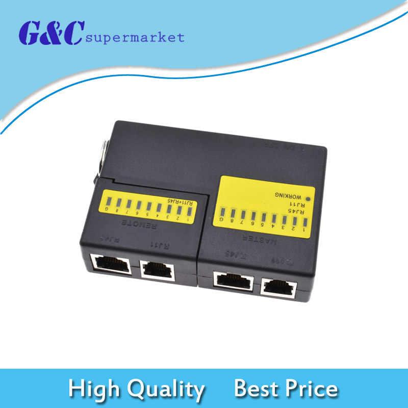 professional super mini network lan cable wire tester cat5 rj11 rj45 tester
