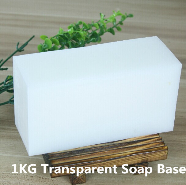 1KG High Quality Natural pure Transparent Soap Base DIY Handmade Soap Raw Materials original 1kg natural cocoa butter chocolate raw unrefined special incense 100