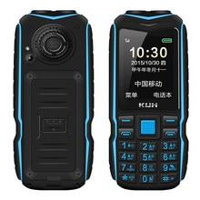 Kuh dupla lanterna blacklist longa espera banco de potência robusto telefone ao ar livre à prova de choque dois sim grande voz russo chave telefone
