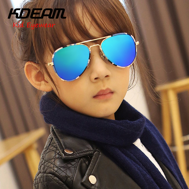 a52e48b67b KDEAM Children Sunglasses Kids fashion Polarized eyewear Girl HD Polarized  Colorful Boy Polaroid Sun Glasses UV400