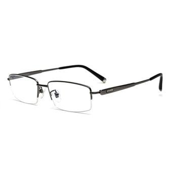 Occhiali Da Lettura A Mezzo Telaio | -140 Occhiali Uomo Occhiali In Titanio Telaio Occhiali Da Lettura Occhiali Ultra Luce D'affari Di Mezza Rim Miopia Ottica Gradi Occhiali Da Vista Frames Occhiali