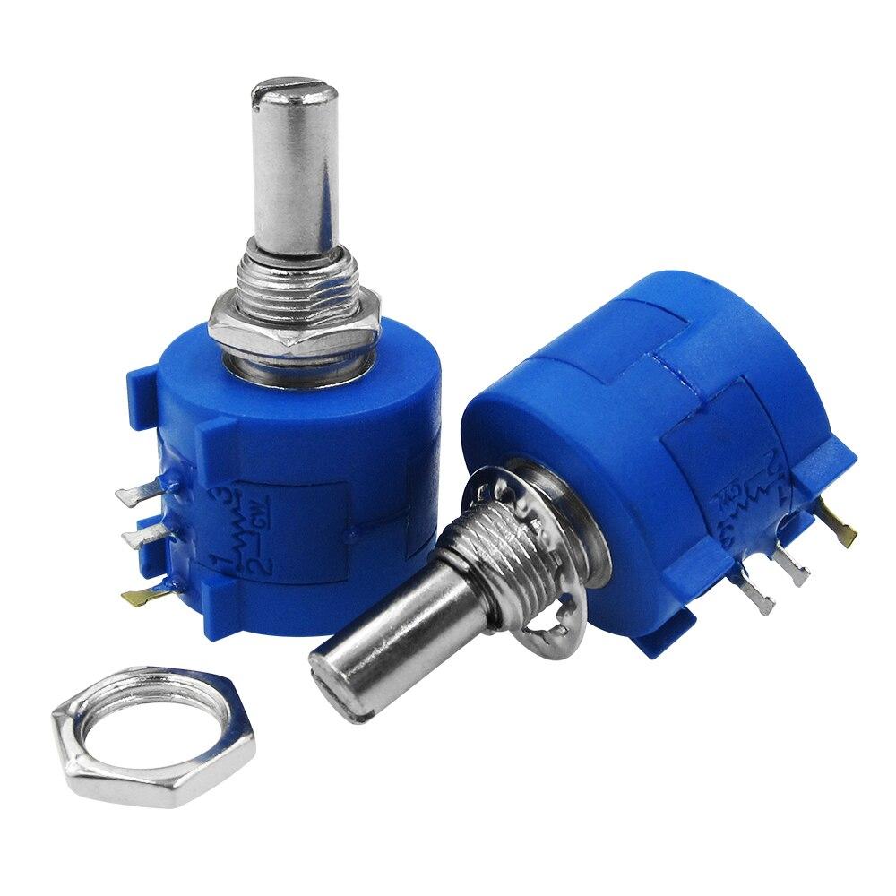 1PCS 3590S-2-203L 20K Ohm 10 Turn Variable Resistor Potentiometer