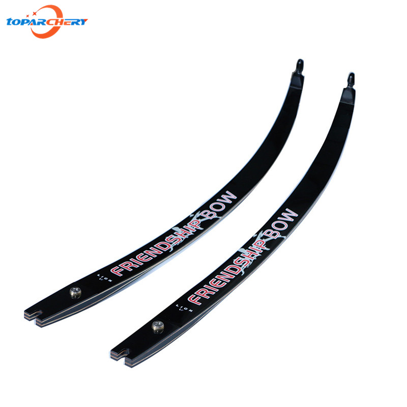 Archery Take Down Bow Recurve Bow Limbs 22-32 lbs for Hunting Long Bow with Carbon & Glass Fiber Reinforced Plastic Material