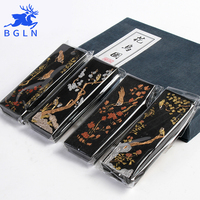 Bgln 1Piece Solid Pine Soot Ink Stick Chinese Traditional Calligraphy For Writing Brush Painting Calligraphy MS039
