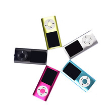 "Metal Mini LCD 1.8 ""mp3/MP4 Player de Vídeo Movie Music Players Com Rádio FM Estéreo Com Microfone Unidade U Disco Função E-book"