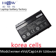 original W370bat-8 battery for Clevo W350et W350etq W370et Sager Np6350 Np6370 Schenker Xmg A522 XMG A722 6-87-w370s-4271 4800mah laptop battery for clevo schenker w740s s413 w740su 3icp7 34 95 2 6 87 w740s 42e w740bat 6 x411 970m 67h1