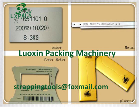 LX-PACK Lowest Factory Price Large Character Ink-Jet Printer DOD Small Character Consumable hand jet printer for bucket hand jet printer price
