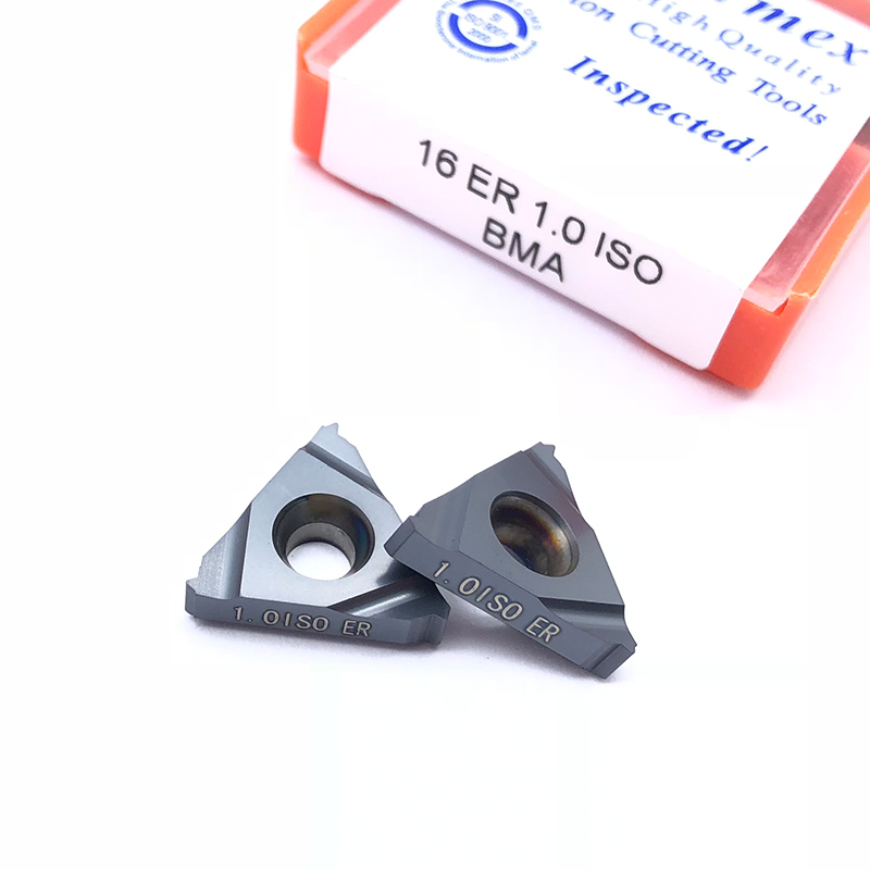 10pcs 16ER 3.5ISO LDA Threading Carbide Inserts for processing stainless