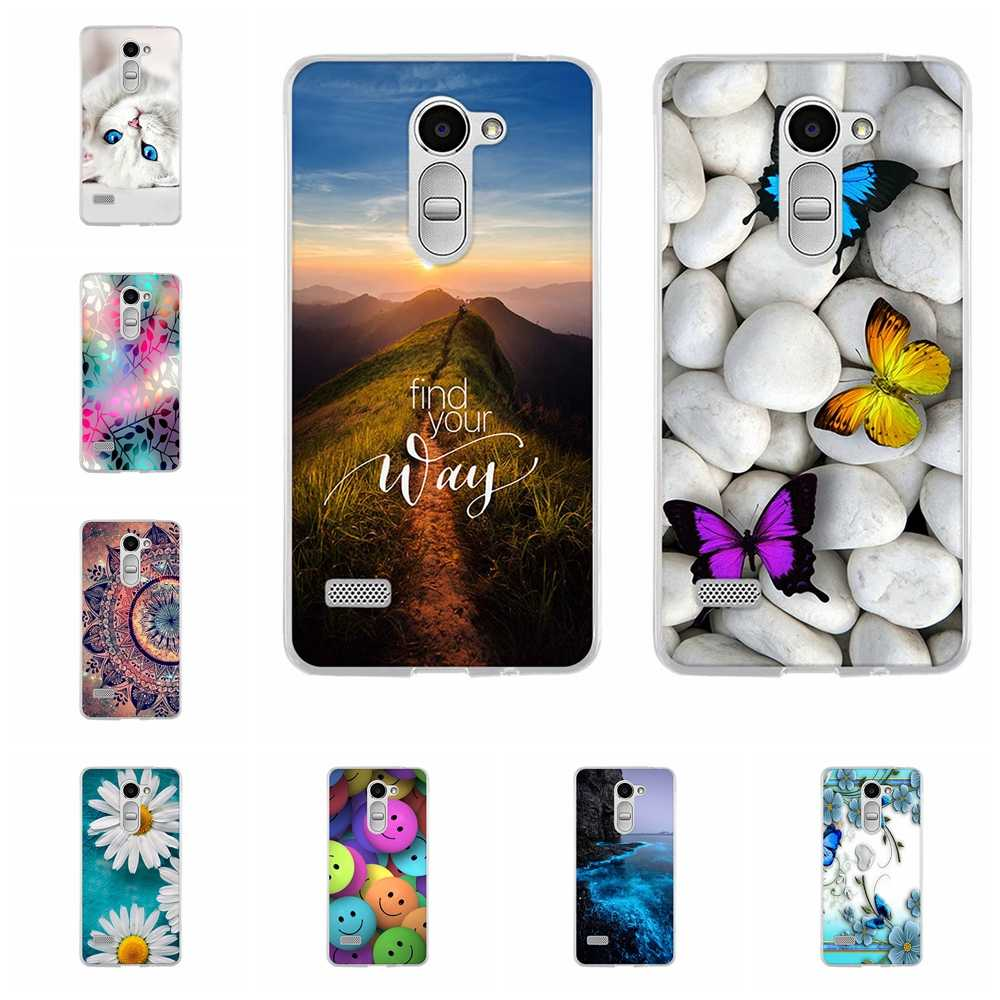 For LG Ray Protective Case Ultra-thin Soft TPU Silicone For LG Zone Phone Cover Floral Patterned For LG X190 X 190 Coque Funda
