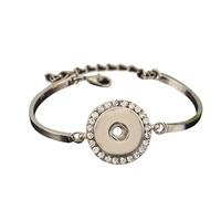 SMB18-56 High quality bracelet snaps bracelets pour snap button fit 18-20mm Interchangeable ginger snaps bracelet bangels