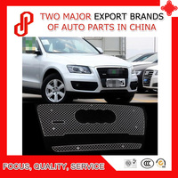 High quality Modificate 304 Stainless steel car front grille racing grills grill cover trim for Q5 2010 2011 2012 2013 2014
