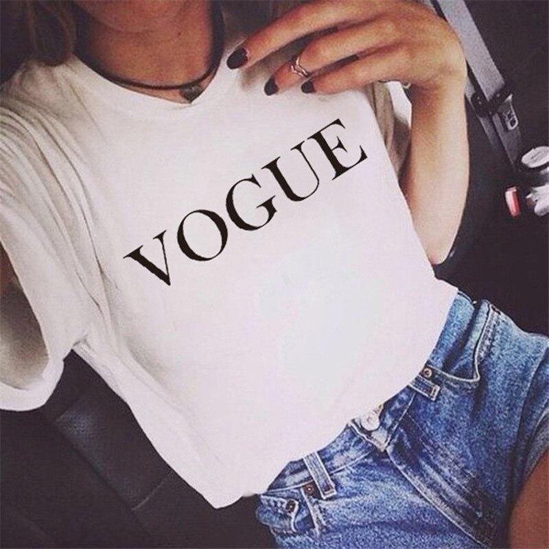 Женская футболка с буквенным принтом Showtly, летняя простая футболка с коротким рукавом