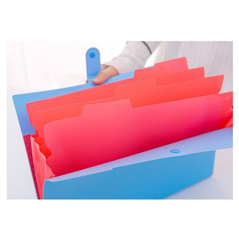Student multi-layer folder smile face A4 organ bag File bag insert information book paper clipStudent multi-layer folder smile face A4 organ bag File bag insert information book paper clip