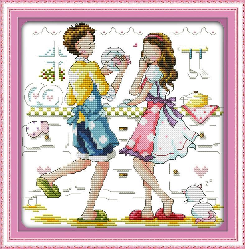 Вышивка для кухни крестом наборы