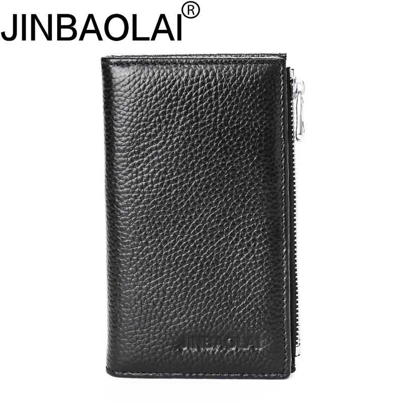 Handy Zipper Men Wallet Genuine Leather Passport Cover Male Clutch Bag Money Business Card Holder Walet Cuzdan Vallet Coin Purse document for passport badge credit business card holder fashion men wallet male purse coin perse walet cuzdan vallet money bag