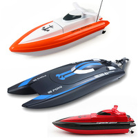 RC Boat DH7014 N800 speedboat remote control yacht cruises motorboat with battery Super water cooled motor toys Gift for kid