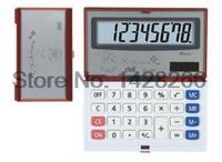 Portable Calculator Deli 1124 Deli 8 Small Large Screen Folding Calculator