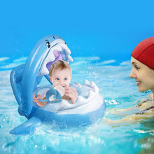 Baby Swimming Ring Shark Float Kids Inflatable Toddler Whale Swim Seat Pool Fish For Gifts