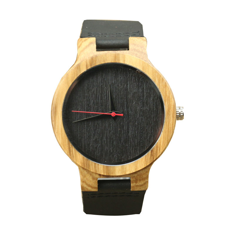 New Arrived Men Fashion Wooden Watch Women Casual Quartz Watch Unisex High Quality Natural Wood Leather Watch Japan Movement
