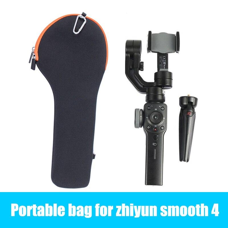 HEIßER Glatte 4 Tragbare Tasche Durchführung Schutzhülle Tragbare telefon gimbal Lagerung Tasche für Zhiyun Glatte 4/Q DJI OSMO für iphone X