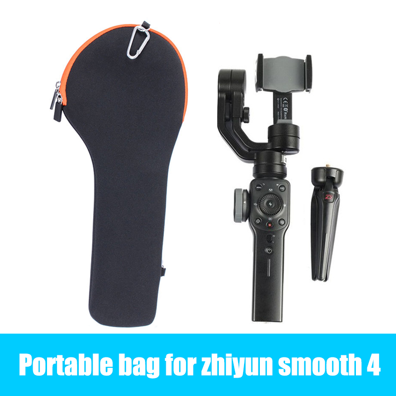 HOT Smooth 4 Portable Bag Carrying Protective Case Portable phone gimbal Storage Bag for Zhiyun Smooth 4/Q DJI OSMO for iphone X portable carrying case storage bag for xiao mi mitu