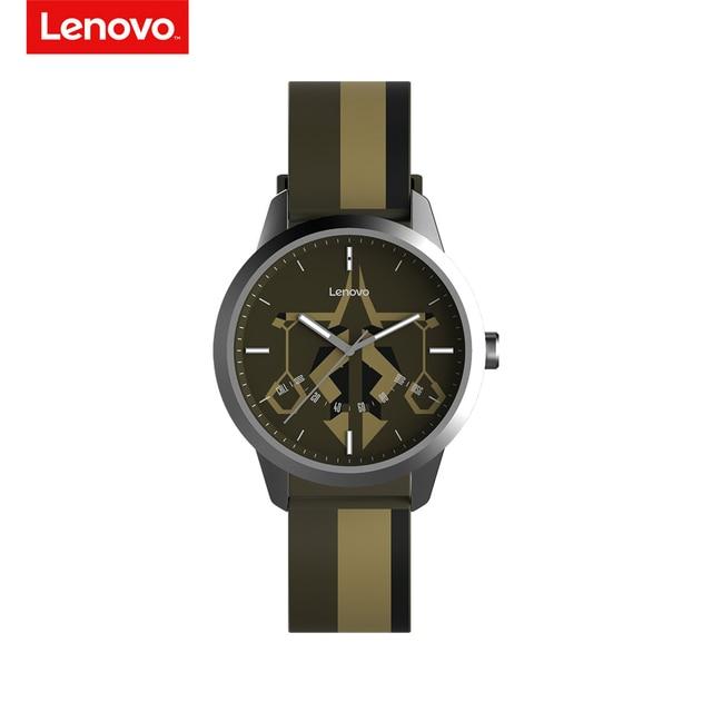 Lenovo שעון 9 חכם שעון קונסטלציה טיימר פלדת מארז זוהר מצביע כושר Tracker פדומטר שיחות מעורר