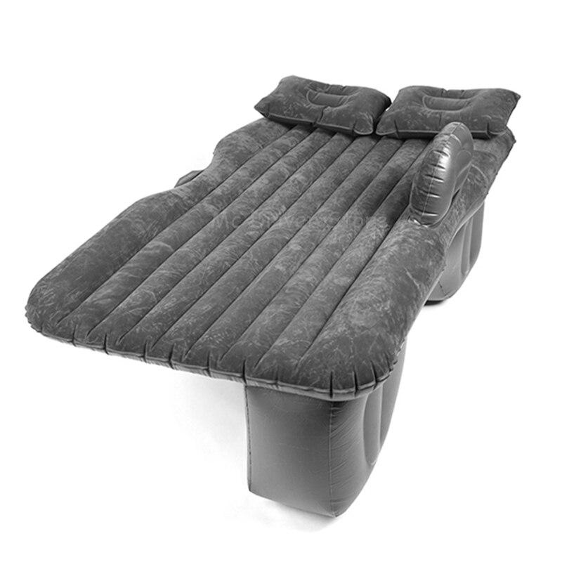 Автомобильный надувной матрас, кровать для путешествий, кемпинг, диван, заднее сиденье, подушка для отдыха, спальный коврик без насоса, унив...