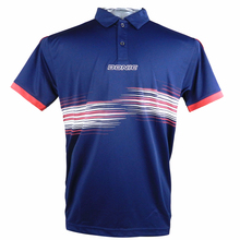 DONIC футболки для настольного тенниса, футболки для тренировок, впитывающие пот, удобные, высокое качество, футболка для пинг-понга, спортивная одежда
