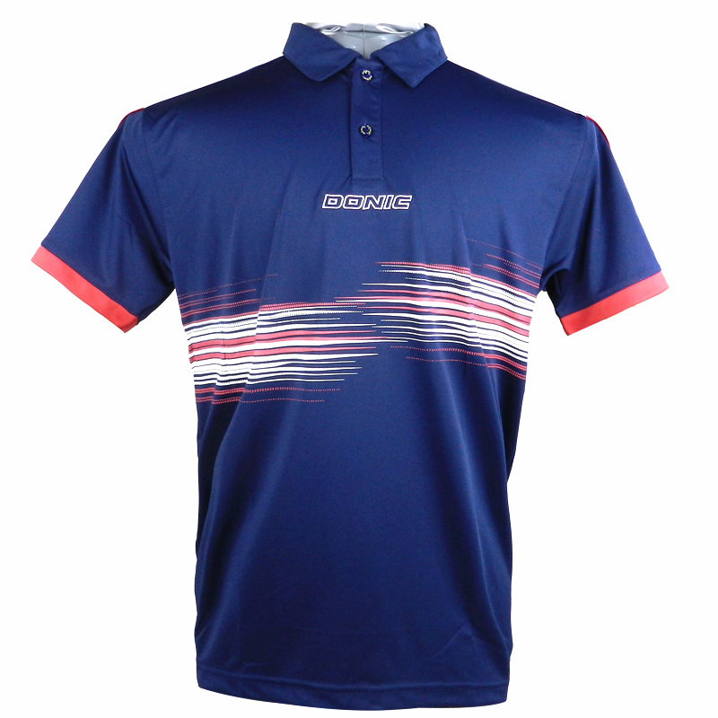 DONIC Table Tennis Jerseys Training T-Shirts Absorb Sweat Comfort Top Quality Ping Pong Shirt Cloth Sportswear