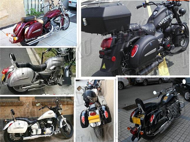 US $159 79 6% OFF|Motorcycle Hard Saddle bags Trunk Lights Luggage For  Suzuki Boulevard C50 Volusia 800 C90 M109R C109 Marauder 800 M50  Intruder-in