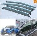 Carro Chuva escudo Chuva janela viseira pala de sol acabamento para Mazda CX-5 CX5 2012-2014 4 pcs. por conjunto Acessórios Toldos Abrigos