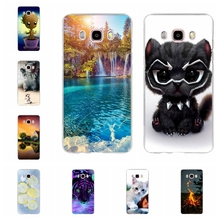 For Samsung Galaxy J5 2016 Case Soft TPU J510 J510F Cover Cute Patterned Funda
