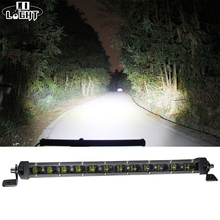 CO LIGHT 90W 20 Led Bar Cree Chip 6D Lens 6000K Single Row Light Combo for Lada Niva Jeep Ford Toyota 4X4