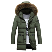 Men Coat Men S Casual Fashion Large Padded Hooded Coat Fahion Hot Sale Autumn And Winter