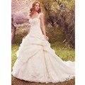 Vestido де novia Оборками Принцесса Свадебные Платья 2017 свадебные платья турция Элегантный Королева Свадебные Платья мантия де свадебная