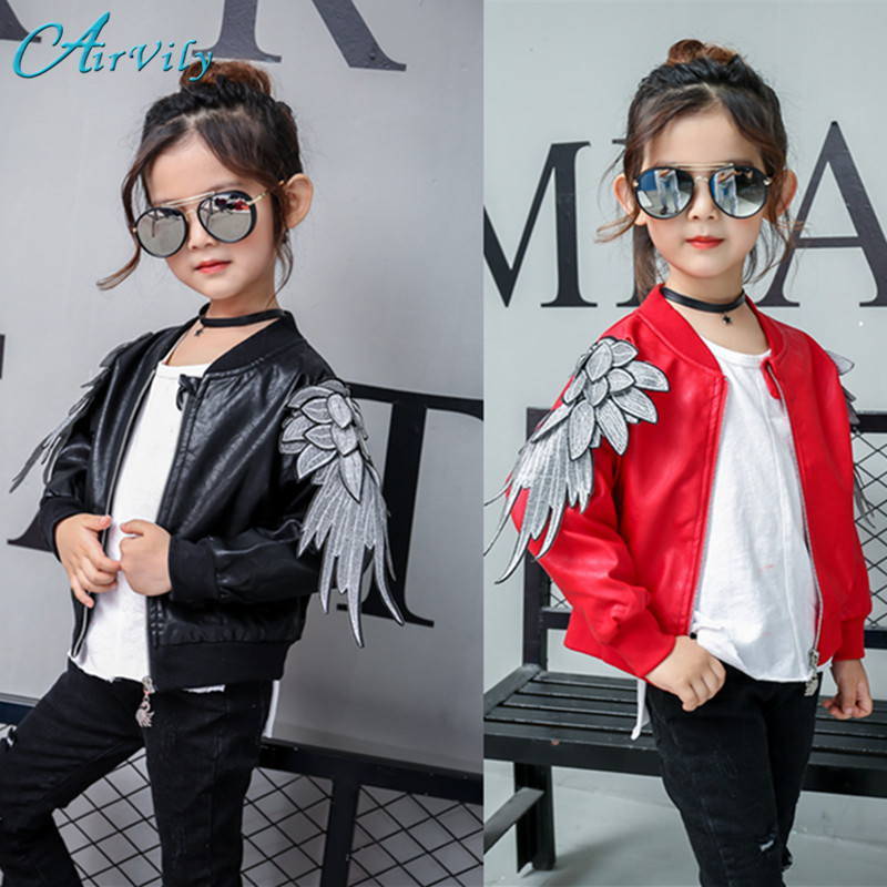 2017 Sale Special Offer Solid Spring Kids Jacket Pu Leather Jackets Clothes Children Outwear For Baby Clothing Coats Costume