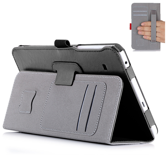 Tab S2 8.0'' Stand Leather Case For Samsung Galaxy Tab S2 8.0 T710 T715 Magnet Tablet Cover Case With Card Slot & Hand Strap