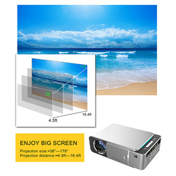 Projektor hd led HDMI USB 1080P projektor kina domowego Bluetooth WIFI LSMK99|Systemy konferencyjner|   -