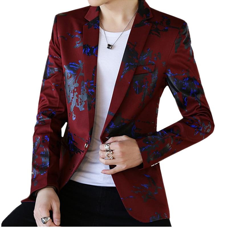2018 Jugend Mode Lässig Männer Langarm Bluse Größe S M L Xl 2xl 3xl Weiß Blau Weinrot Gentleman Slim Elegante Kleidung