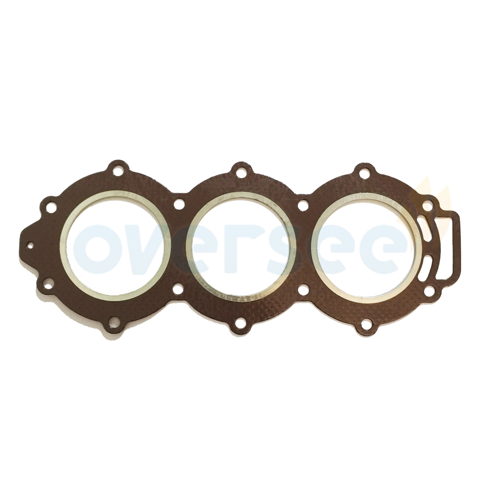OVERSEE 6H3-11181-01-00 Cylinder Gasket For Yamaha Outboard Engine Motor 60HP 70HP