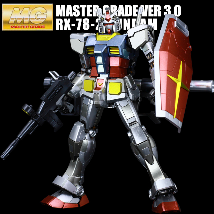 Number One Player Up To GUNDAM Ancestor Metal Coloring MG RX-78 3 Dare To Be A Boy Gift cable internet audio video connector desktop socket with 2 universal power rj11l rj45 usb vga hdmi round thin size reference
