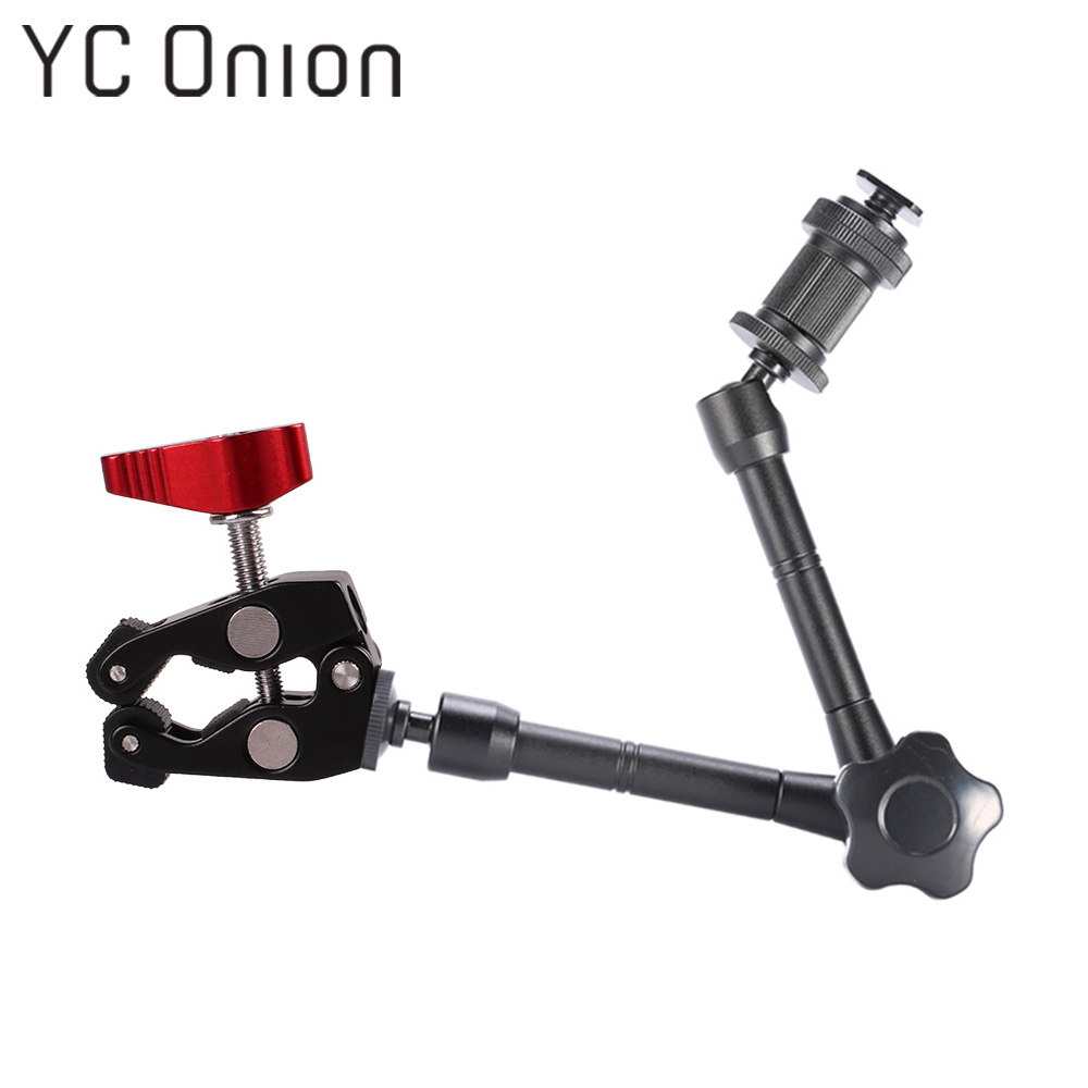 Multi-function Adjustable Magic Arm Super Clamp Crab Clip For DSLR Camera LCD/DV Monitor Video Light Photo Studio Accessory