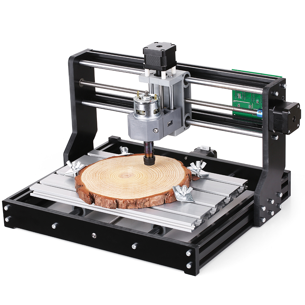 CNC3018 2-in-1 Mini DIY CNC Laser Engraving Machine Router Kit GRBL Control 3 Axis For PCB PVC Plastic Wood Carving Machine