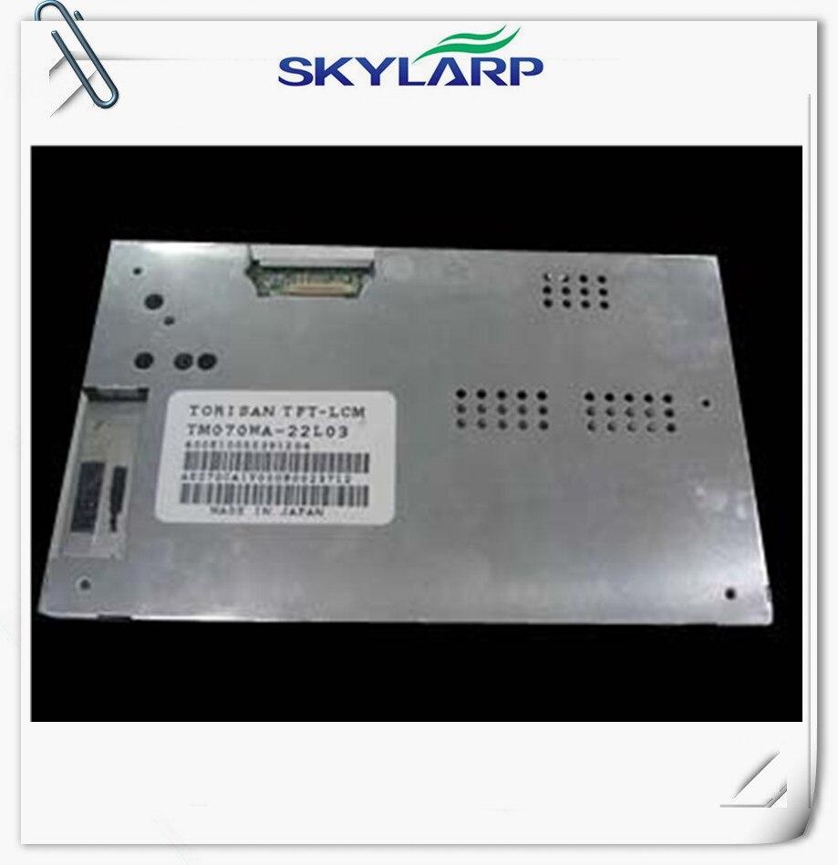7 inch LCD panel for Sanyo TM070WA-22L03 TM070WA 22L03 for Car GPS LCD screen display panel module free shipping